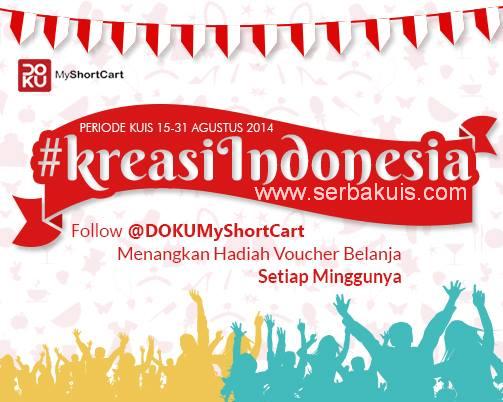 Kuis #KreasiIndonesia Berhadiah Voucher Belanja Total 600K