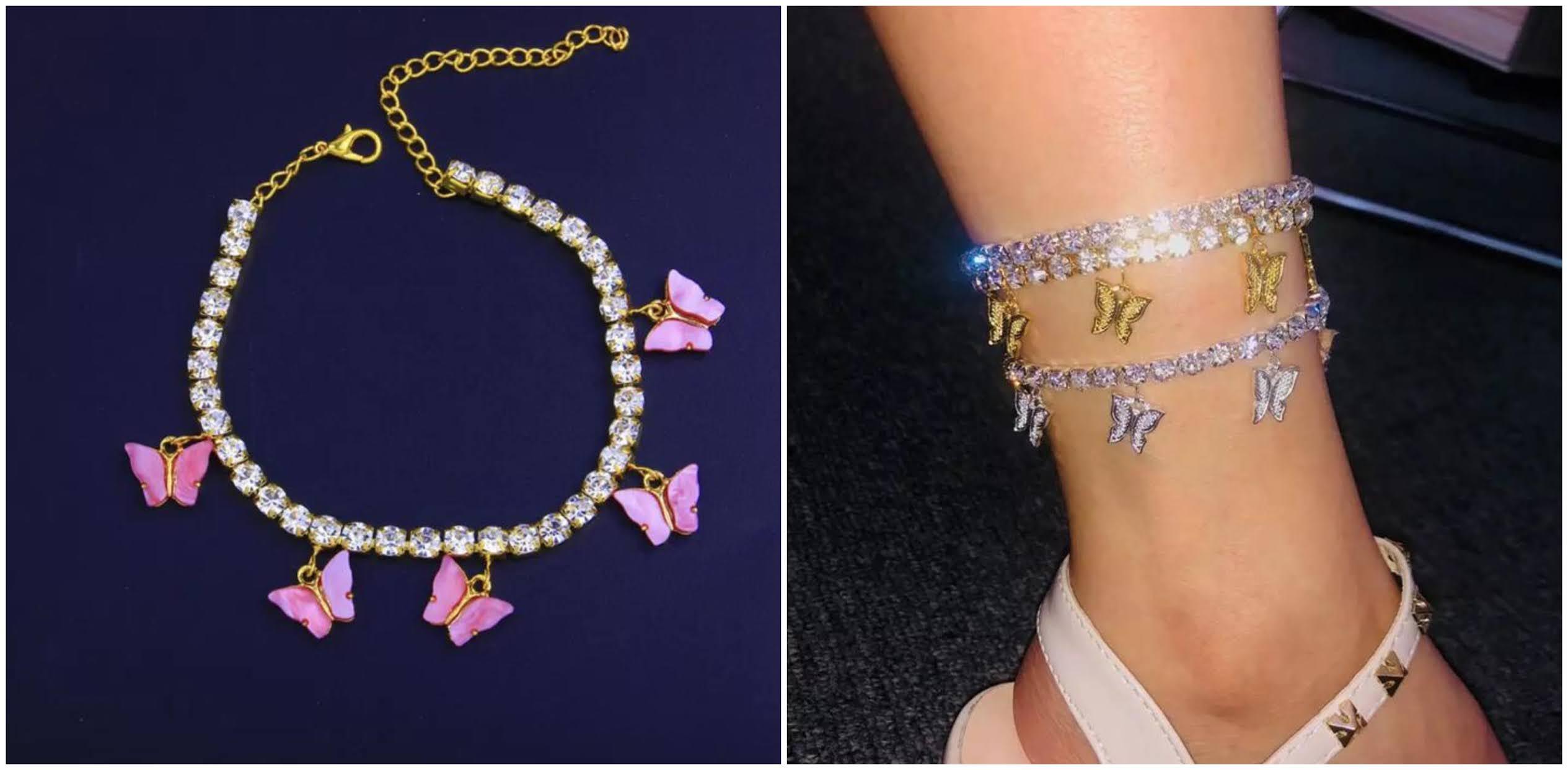 best y2k accessories online anklets