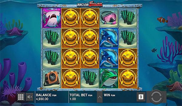 Main Gratis Slot Indonesia - Razor Shark Push Gaming