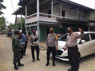 Kapolres Pangkep pantau Personil Pengamanan Kampanye di Bungoro