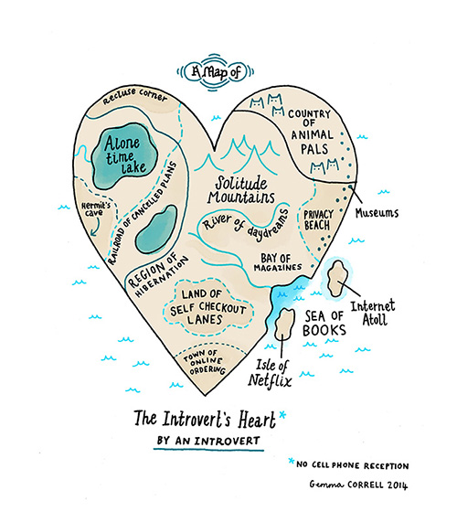 http://society6.com/gemmacorrell/a-map-of-the-introverts-heart#1=45