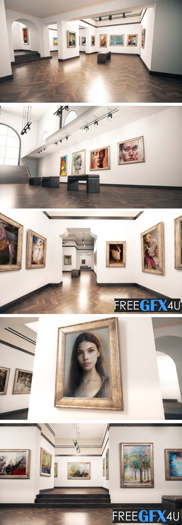 Aftereffect Gallery and Art Museum project