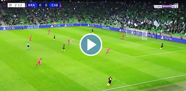 FC Krasnodar vs Chelsea Live Score