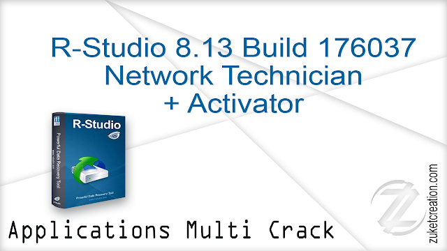 R-Studio 8.13 Build 176037 Network Technician + Activator