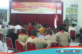 TNI AD Adaptif Bina Masyarakat Berwawasan Kebangsaan dan Berkarakter