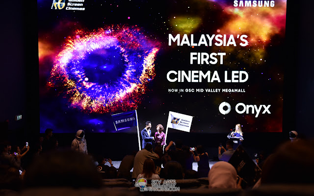 Malaysia First Onyx Cinema LED Screen in Golden Screen Cinemas Try it out at GSC Mid Valley Hall 11