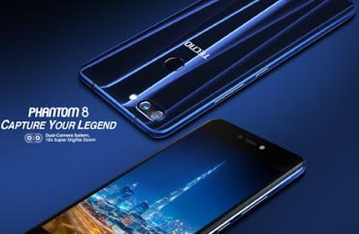 Tecno Mobile Introduces New Phantom 8