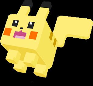 Pokéxel Pikachu - Pokémon Quest