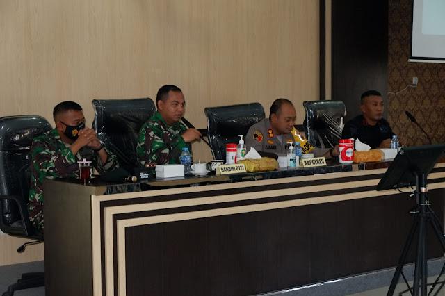 Rakor Latihan Gabungan TNI - Polri Wilayah Solo Raya
