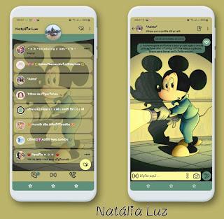 Mickey On Tourch Theme For YOWhatsApp & Fouad WhatsApp By Natalia Luz