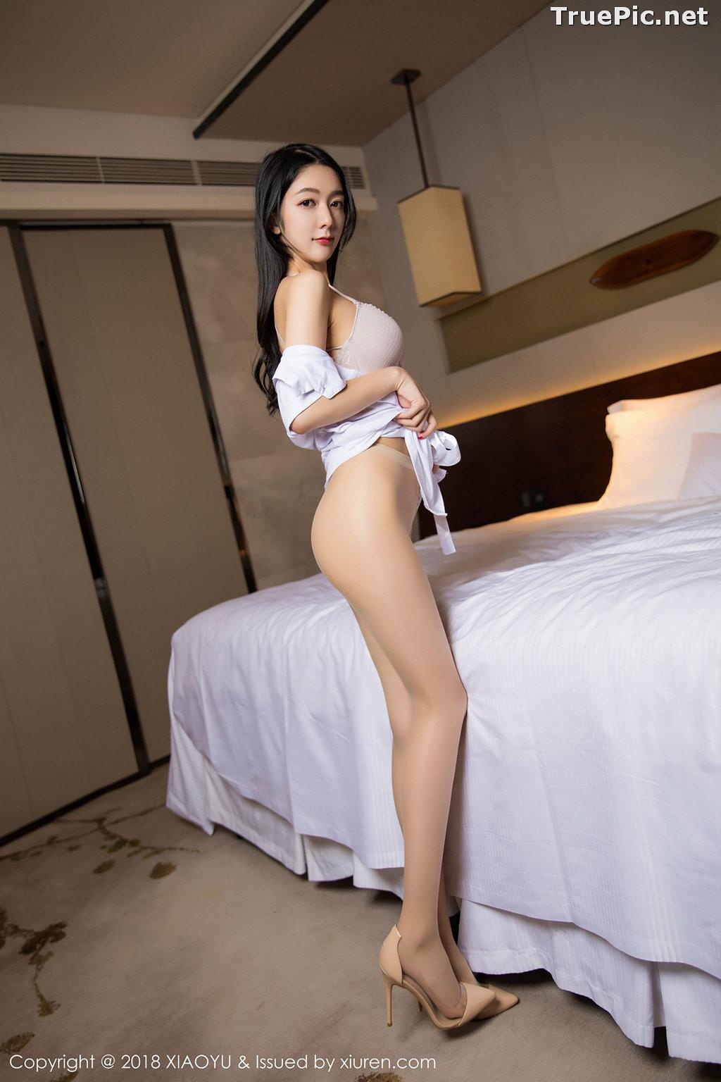 Image XiaoYu No.004 - Chinese Model - Xiao Reba (Angela喜欢猫) - White Sexy Nurse - TruePic.net - Picture-32