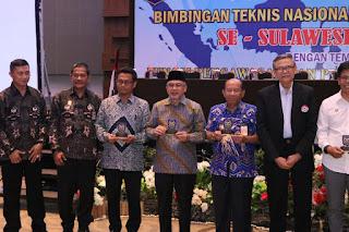MAKASSAR - Bantaeng Dapat Penghargaan Apdesi Sulsel Award