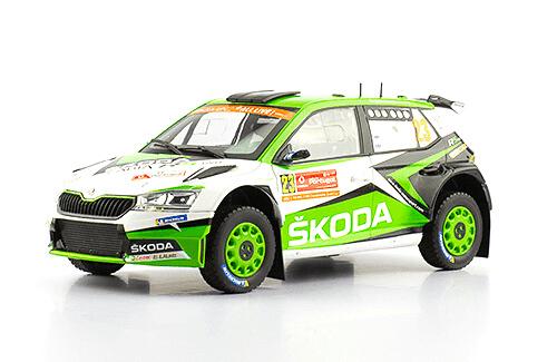 WRC collection 1:24 salvat españa, Škoda Fabia R5 1:24