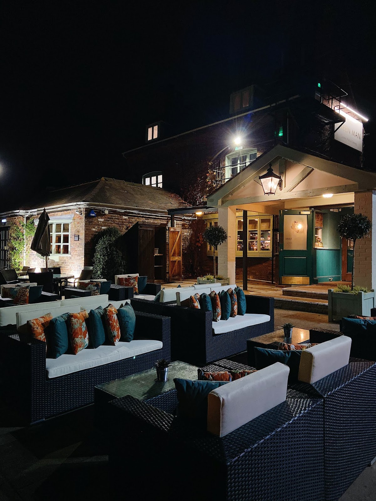 the green man, Middleton review - see the stars