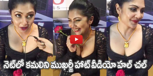 Kamalinee Mukharjee  At Vanitha Film Awards 2017 About on Mohanlal