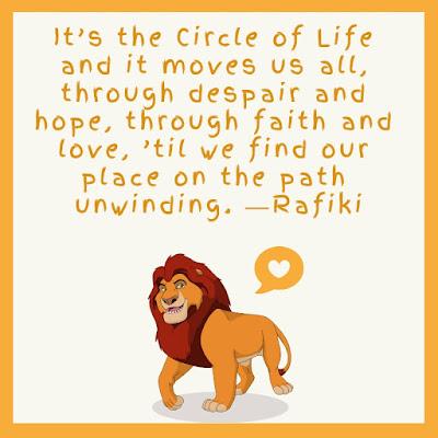 Lion King Birthday Quotes
