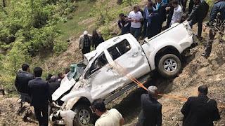 Hizan'da Araç Şarampole Yuvarlandı: 2 ölü, 3 yaralı