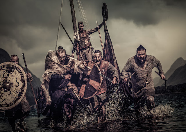 Pillaging, vicious wildmen are what we associate with the Vikings