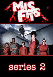 Misfits Temporada 2 audio español