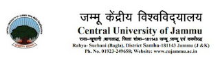 Central University of Jammu (CUJ) LDC, Personal Assistant Driver Previous Question Papers