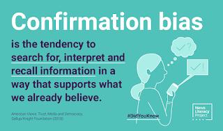 confirmation bias cdc