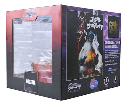 "San Diego Comic-Con 2020 Exclusive Godzilla 1995 ""Burning Godzilla"" Gallery PVC Statue by Diamond Select Toys"
