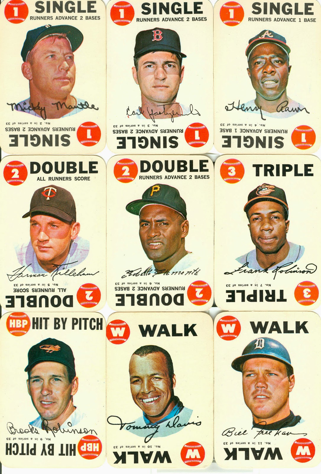 Topps Baseball Playing Card Inserts Revisited