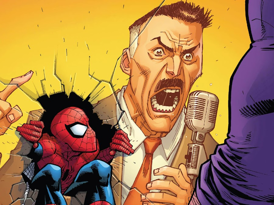 shock jock j jonah jameson pro spider man nick spencer ryan ottley marvel comics