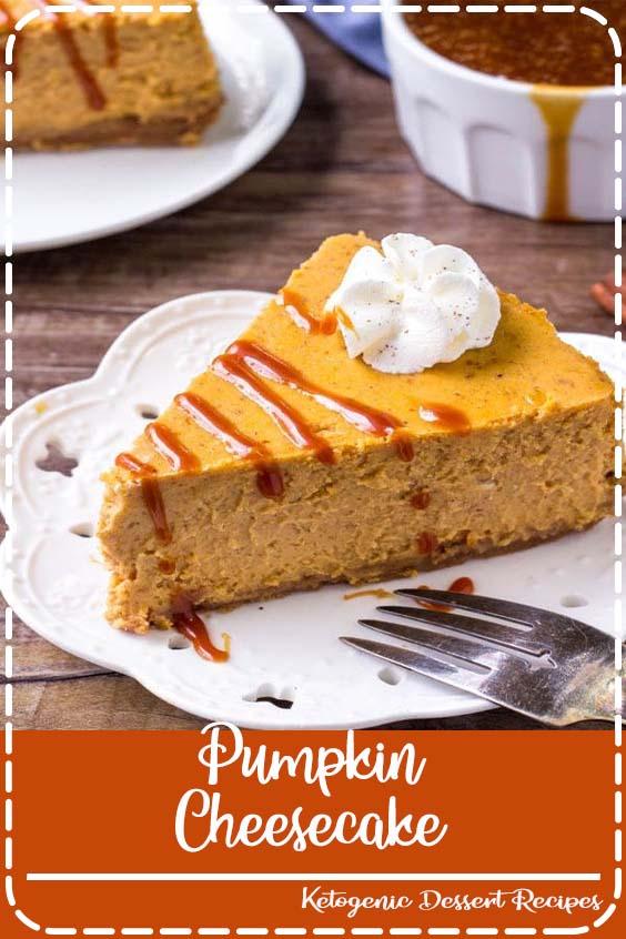 This Pumpkin Cheesecake is the perfect dessert for fall  Pumpkin Cheesecake