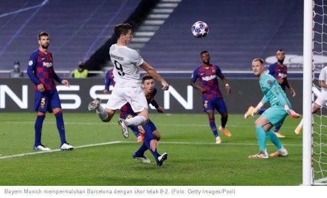 Barcelona vs Bayern München 2–8 Highlights