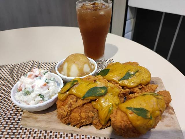 MB Crispy Chicken Burger