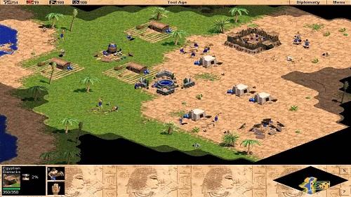 Egyptian là loại quân vô cùng hoàn hảo trong vòng Age of Empires