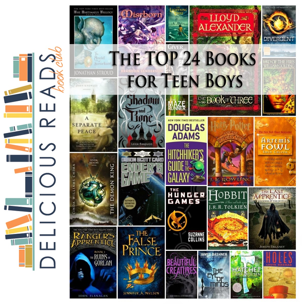 books boys teen teens popular reads read most teenager teenage male fiction series boy author delicious guys adult recommended every