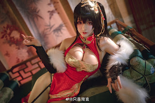 Model [只是简言] 大凤旗袍 Taihou 大鳳 (Azur Lane 碧蓝航线) | E-CUP | Page 2/2