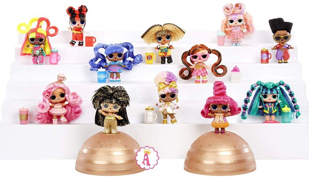 Вся коллекция 12 кукол L.O.L. Surprise #Hairvibes Dolls