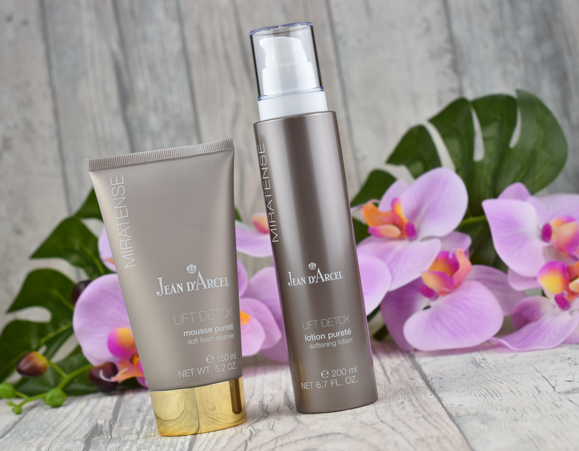 beautypress News Box Oktober 2019 Jean D'Arcel - Miratense mousse pureté und lotion pureté