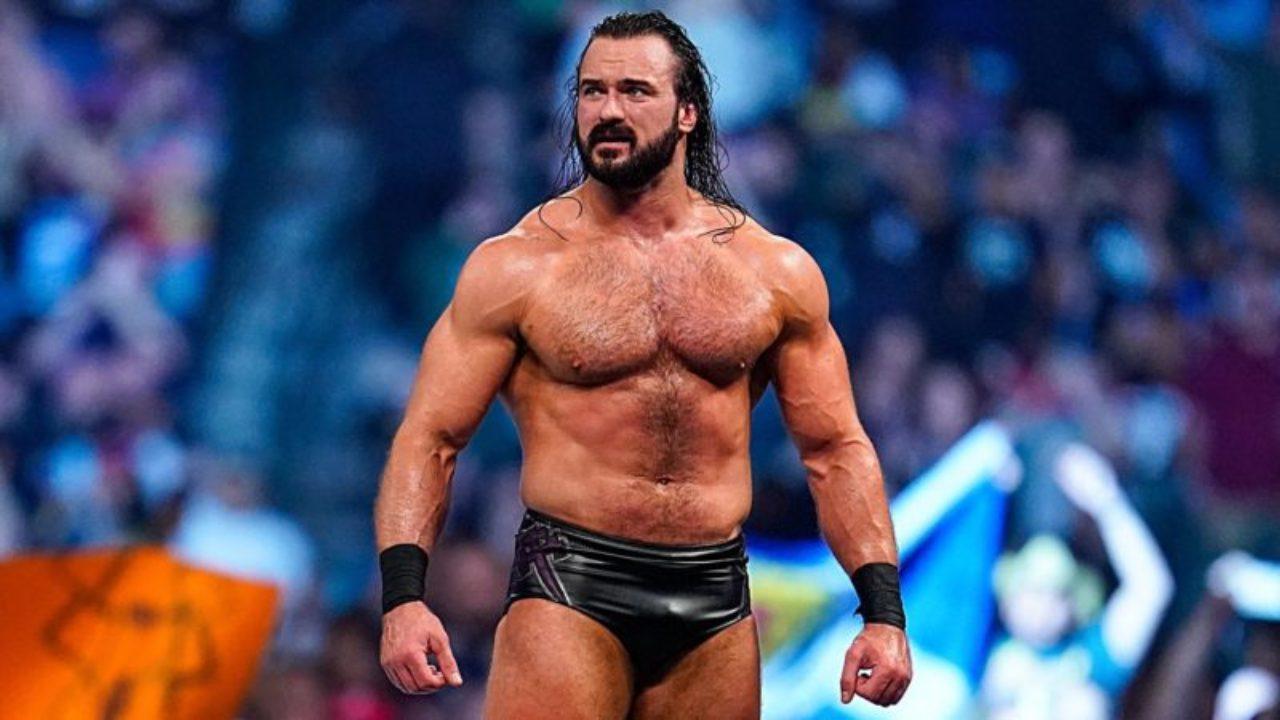 Drew McIntyre on RAW
