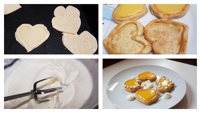 Tartaletas rápidas para san valentin paso a paso