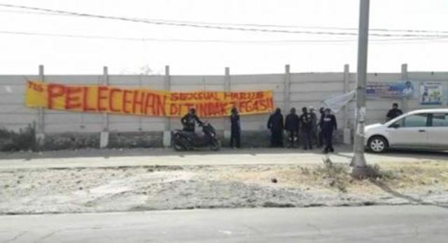 Pekerja Asing Diduga Lakukan Peleecehan Seeksual ke Karyawati Pabrik di Mojokerto