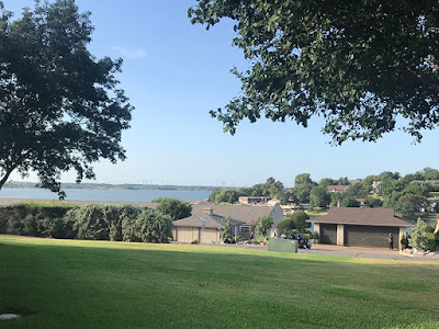 View from Moses' Home - DeCordova Bend, Texas