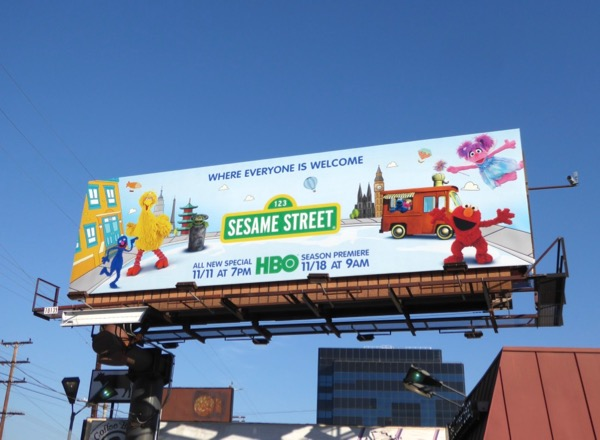 Sesame Street season 48 billboard