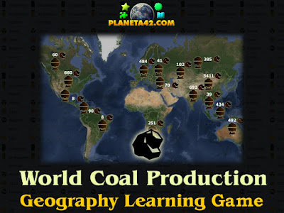 Coal Production Map Game