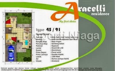 Properti-Niaga-Rumah-Cluster-Aracelli-Residence-Depok_1