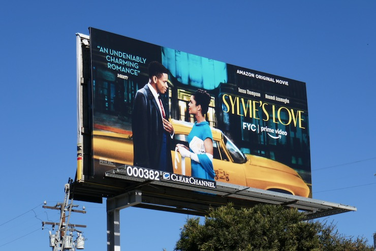 Sylvies Love film billboard