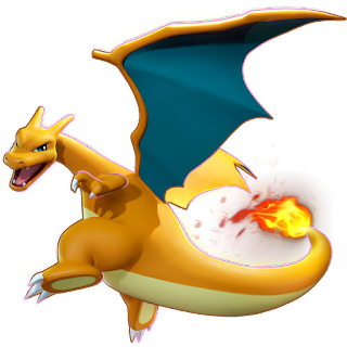 Pokémon Unite - Charizard Splash Art