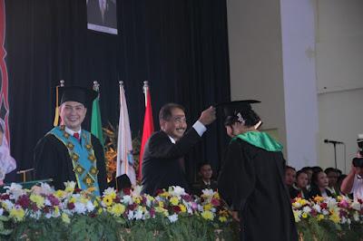 Menteri Pariwisata Hadiri Wisuda 317 Mahasiswa Poltekpar Medan