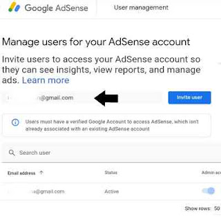Carae mngundang user lain ke google adsense kita