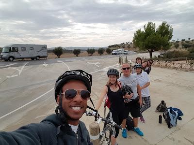 Bike ridin' in the Bardenas
