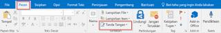 Cara Buat Signature Tanda Tangan Email Di Microsoft Outlook