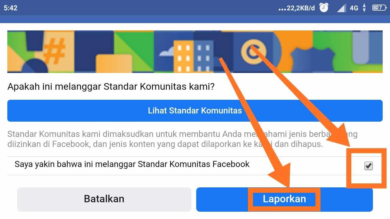 Cara Memblokir Facebook Orang